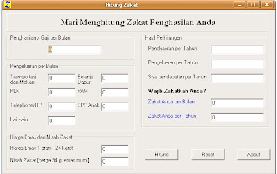 Aplikasi Menghitung Zakat Mal Mnu Peureulak