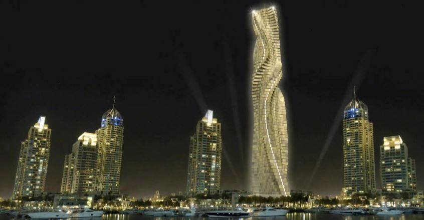 World's first rotating skyscraper to be built in Dubai