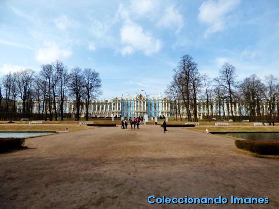 Visitar el Palacio de Catalina en Pushkin
