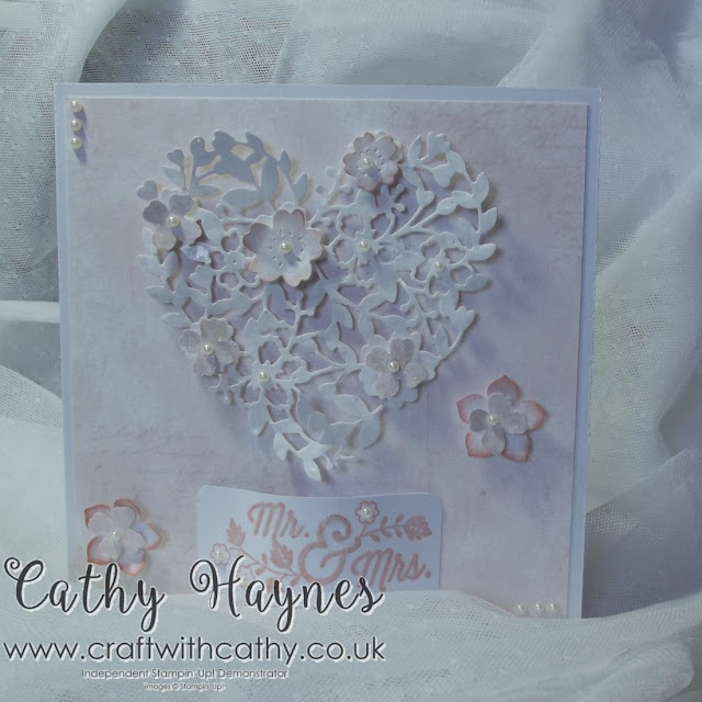 #Bloomin' #Love #Wedding #Card #Thinlets #Stampin'Up!
