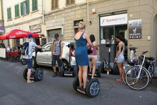 Passeio de Segway em Florença