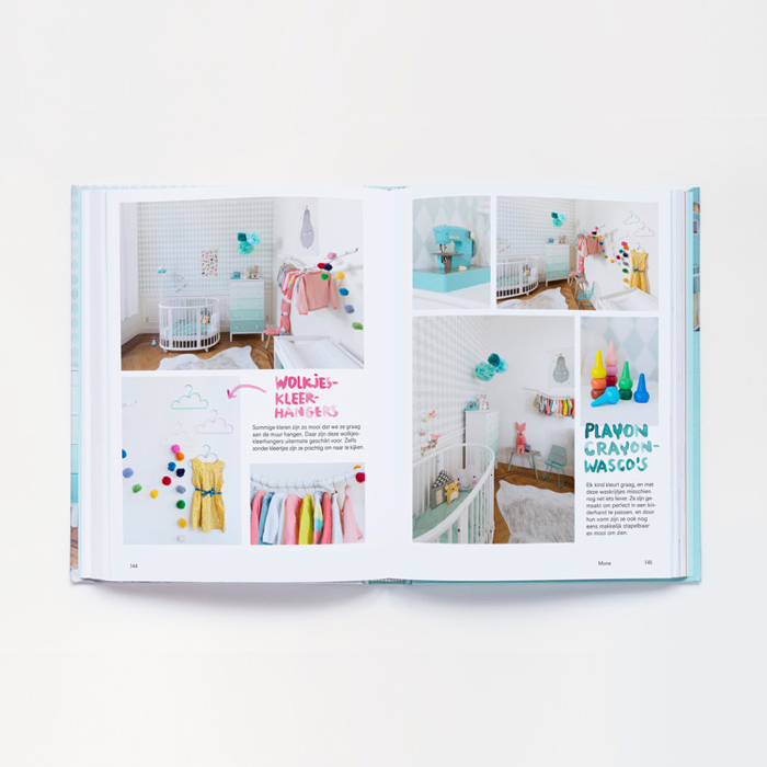""" Mini Woonboek""   book about children's rooms"