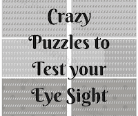 Crazy Puzzles to Test your Eye Sight