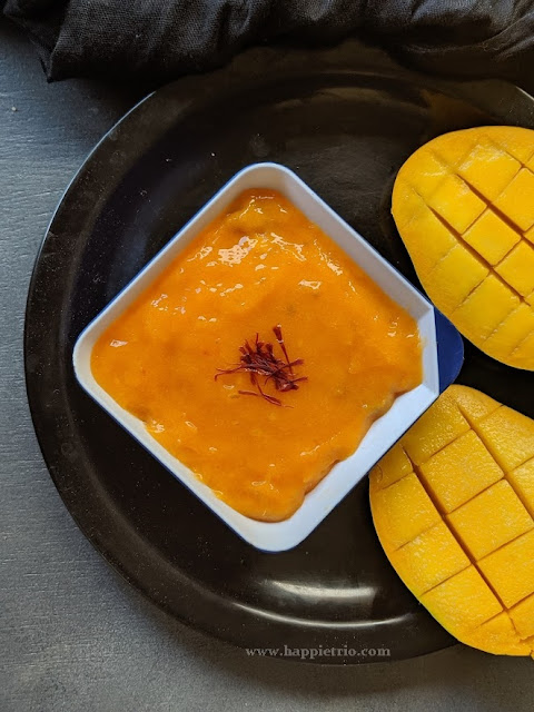 Aamras Recipe | How to make Aamras | Aamras Puri | Mango Pulp Recipe