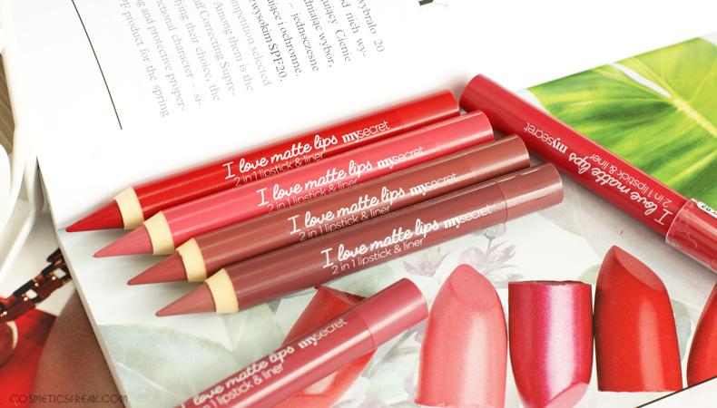 my secret i love matte lips