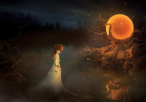 halloween moon wallpaper - photo #18