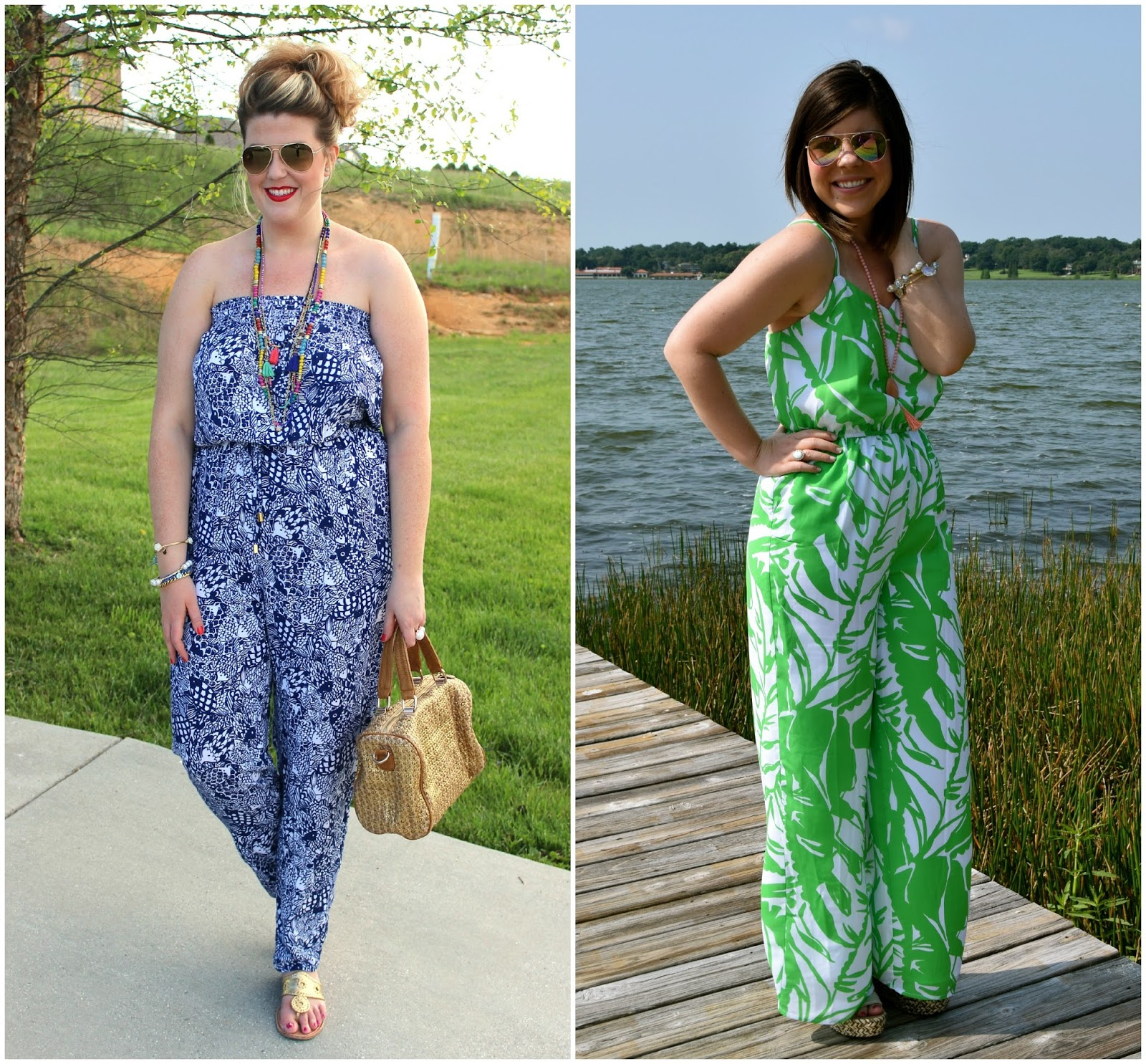 Lilly for Target- Two Bloggers & Two Jumpsuits!
