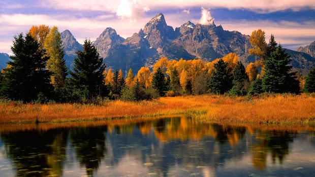 Fall Mountain Desktop Backgrounds Nature