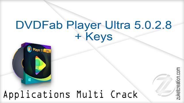 DVDFab Player Ultra 5.0.2.8 + Keys  |  91.5 MB