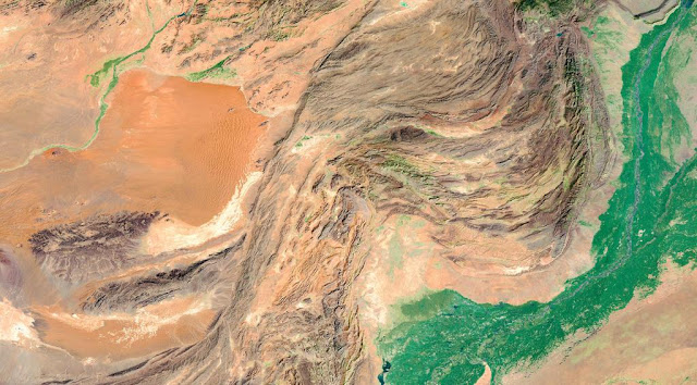 New World Atlas of Desertification shows unprecedented pressure on planet's resources