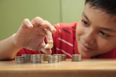 Coleccion de monedas niños