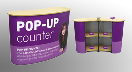 Percetakan Pop Up Counter