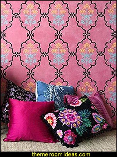 Boho Style Decorating - Boho decor - Bohemian bedding - boho chic decor - boho theme decorating ideas - boho gypsy decorating style - Bohemian theme decorating ideas - bohemian chic bedroom - Gypsy style Boho Boutique