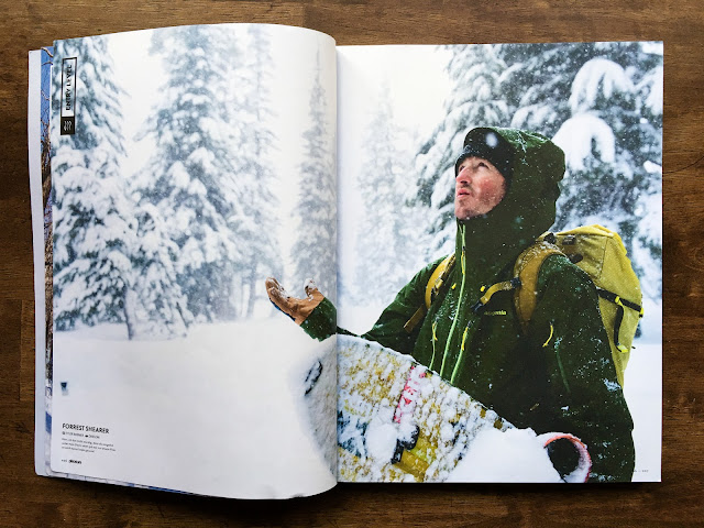 Pleasure Snowboard Magazine with Forrest Shearer.