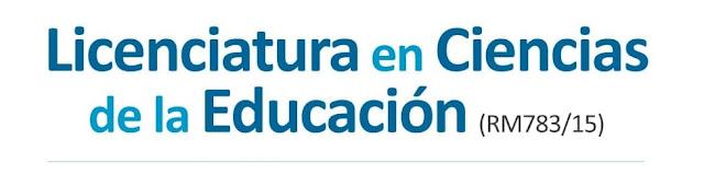 licenciatura en Cs Educación Mar del Plata