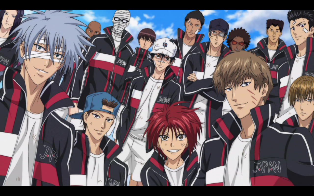 1 2 Prince Anime Characters : It s all about the sports milkcananime