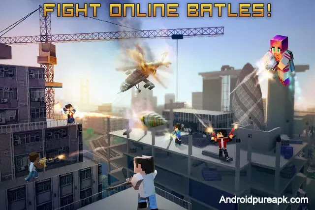 Block City Wars Mod Apk