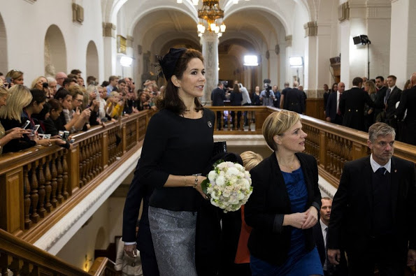 Danish Royal Family At The Opening Session Of The Danish Parliament