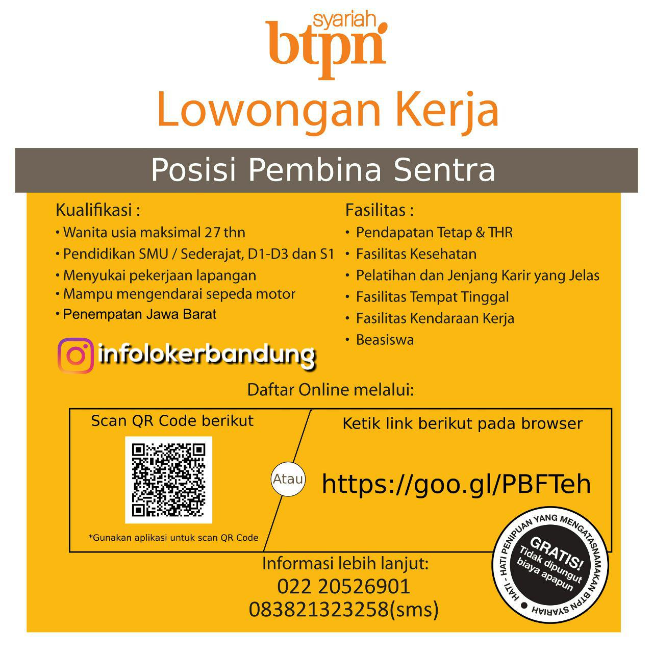 Lowongan Kerja Bank BTPN Syariah Jawa Barat Desember 2017