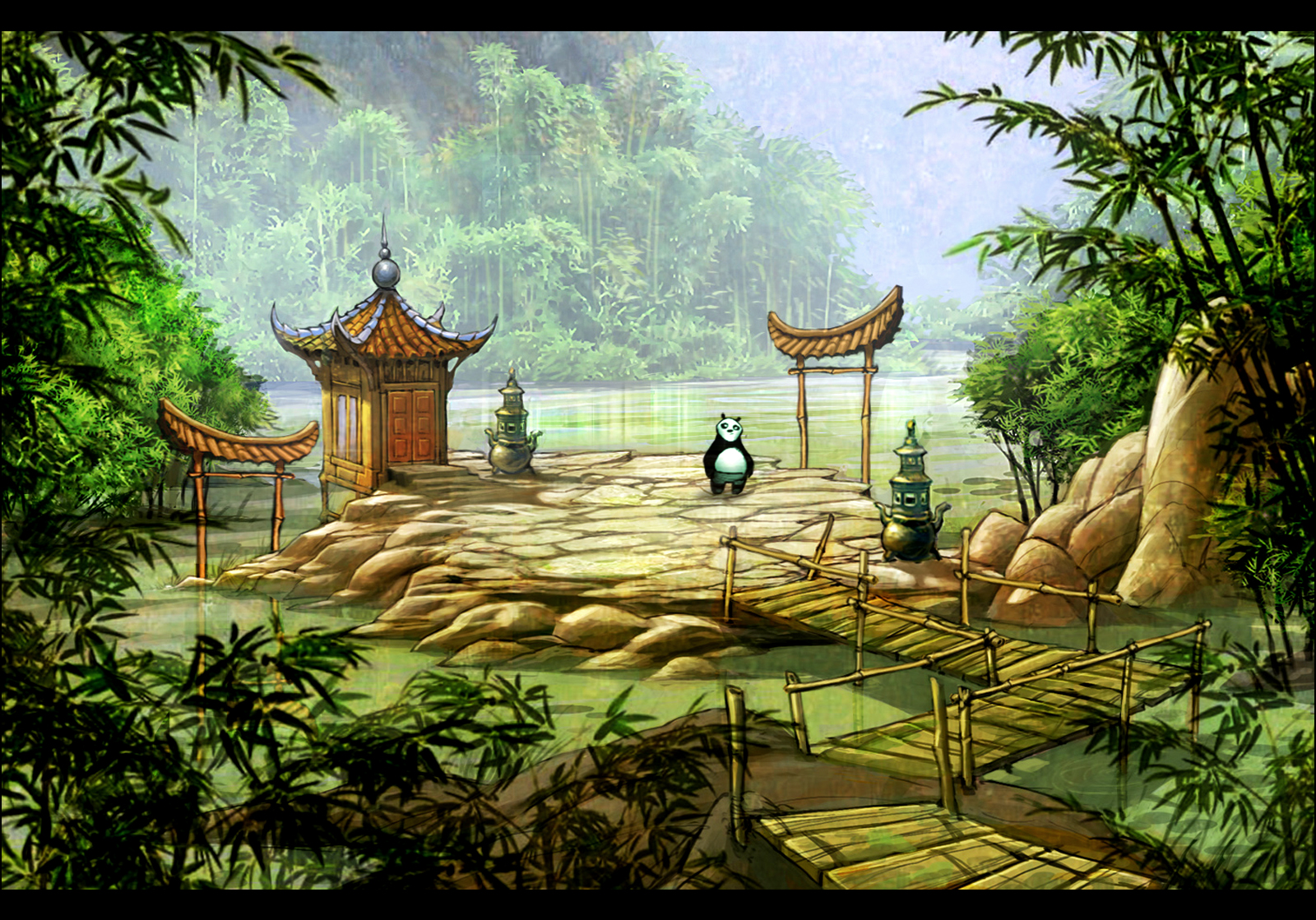 The Hubbell Telescope Kung Fu Panda 2 Ds Concepts