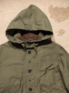 "Engineered Garments ""Highland Parka in Olive Cotton Double Cloth"""
