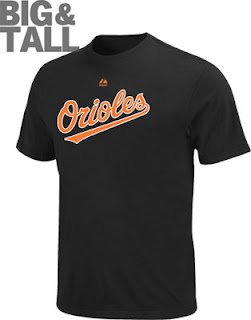 Big and Tall Baltimore Orioles T-Shirt