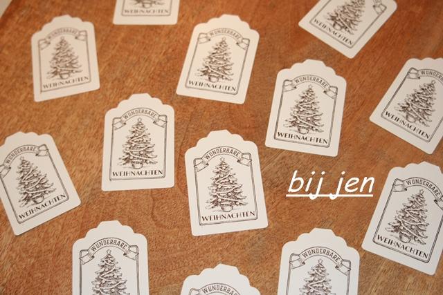 Weihnachten, Anhänger, Christmas, Kerst, Jul, Noel, stempeln, stampin up