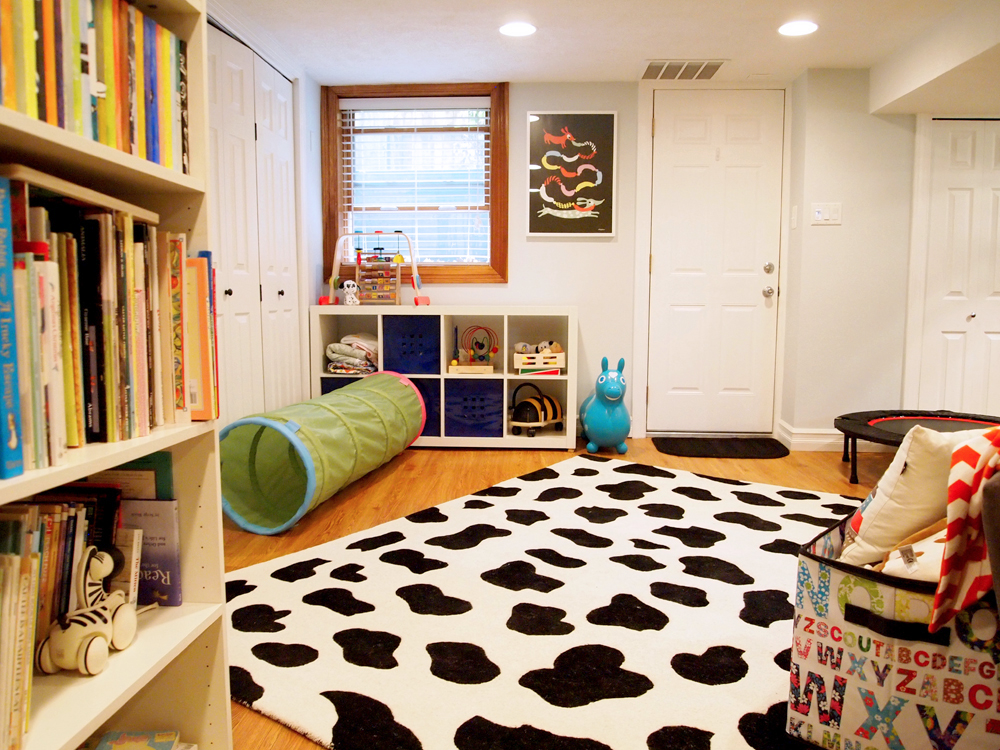 Cozy Little Cave The Basement Playroom
