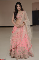 Avantika Mishra in Beautiful Peach Ghagra Choli 001.jpg