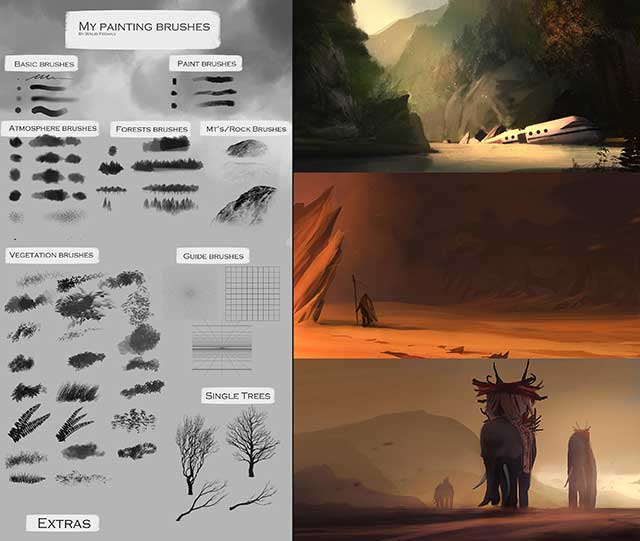 Photoshop-Speedpainting-Brushes-by-Soldatnordsken