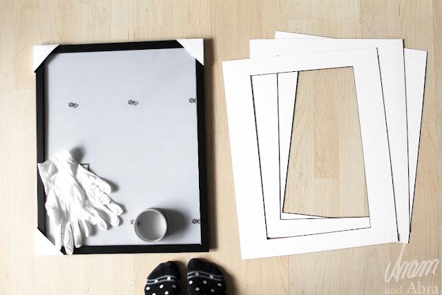 Fotos und Bilder richtig einrahmen