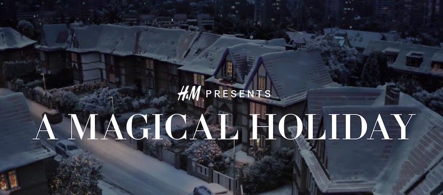 Canzone H&M Pubblicità Natale 2017, Spot Dicembre 2017