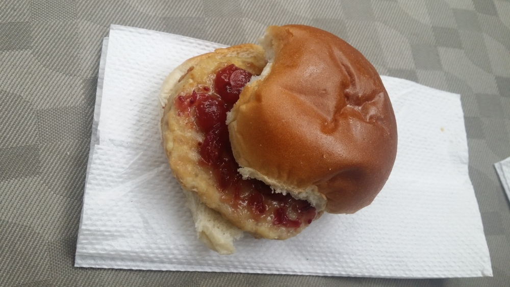 ... Turkey Sliders. The sliders were spotted by an anonymous Brand Eater
