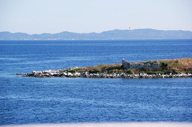 Kassiopi Corfu sea