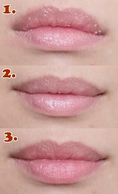 伯特蜜蜂用润唇膏护理方案的照片,整夜强化唇部护理和玫瑰色唇膏。