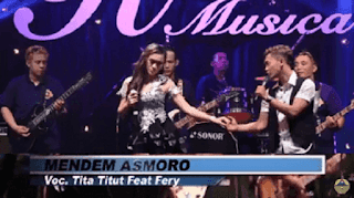 Lirik Lagu Mendem Asmoro - Fery Ft Tita
