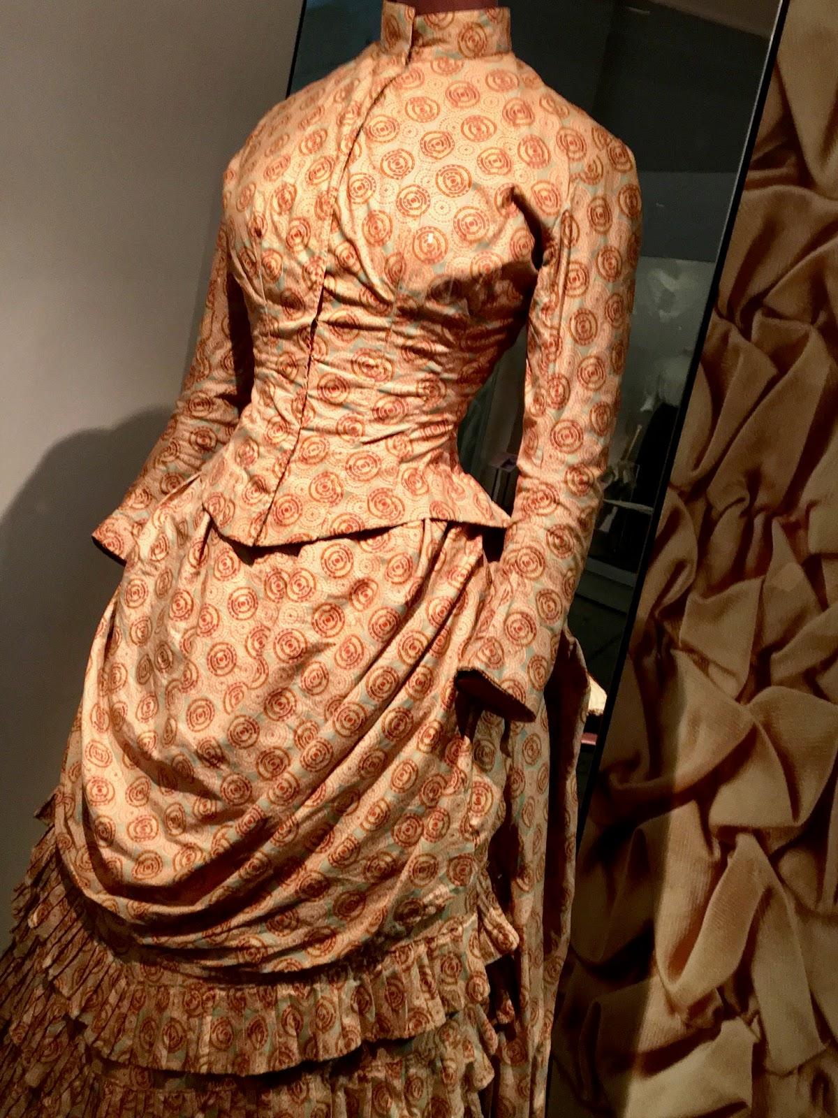 Historic Patterned Corset Dress V&A
