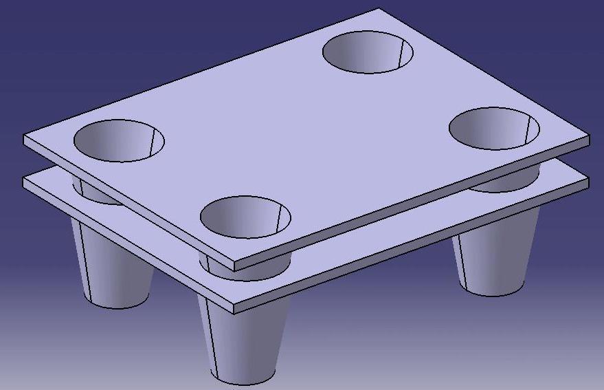 Palet-plastico-reciclado-Syntec-formato-apilable-encajable-300x400x110mm-Dibujo