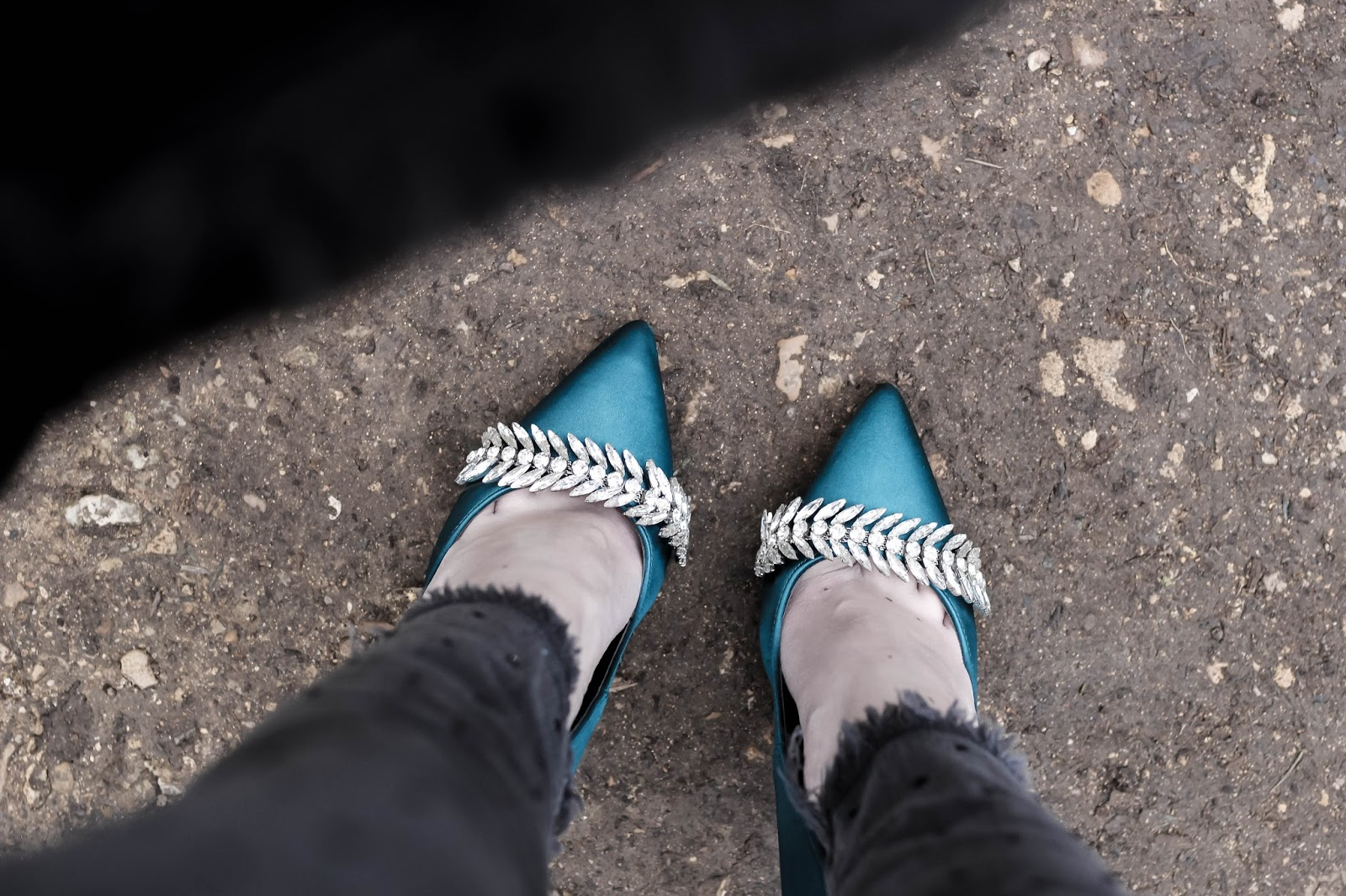 Lost Ink Ally Turquoise Heelsl photos