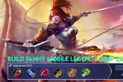 Build Fanny Mobile Legends   Build Mirip Zxuan