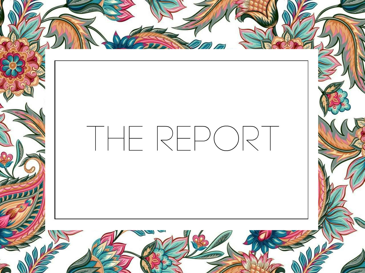 The Report Vol. 3