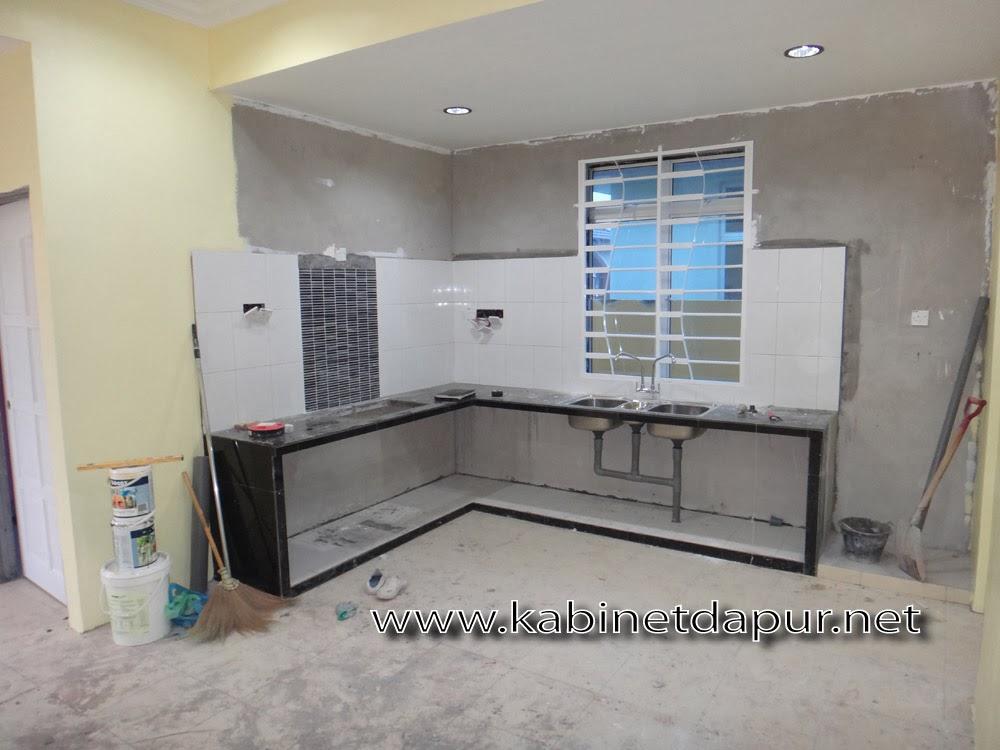 Post Saya Kali Ni Projek Kabinet Dapur Di Taman Bersatu F4 Kuala Kedah Disember 2017 Table Top Konkrit Dibuat Oleh Kontraktor Ubahsuai Rumah