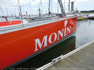 Monin d'Isabelle Joschke (ici à Lorient) participera aux Monaco Globe Series