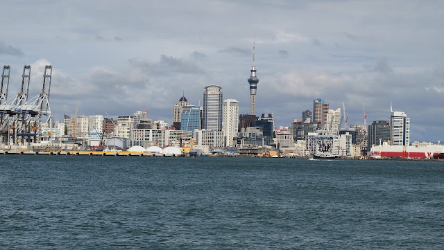 View of downtown Auckland from Devonport