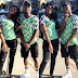 Iyabo Ojo lovely kids rocks the dazzling Nigeria Jersey In Style!(Photos)