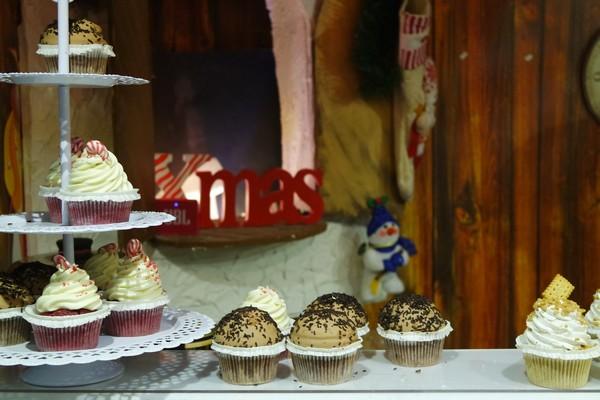 vienne vienna marché Noël weihnachtsmarkt cupcakes