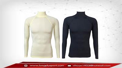 เสื้อรัดกล้ามเนื้อแขนยาว,Bodyfit,Baselayer