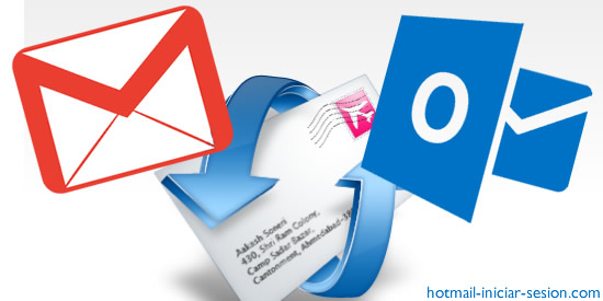 gmail en outlook