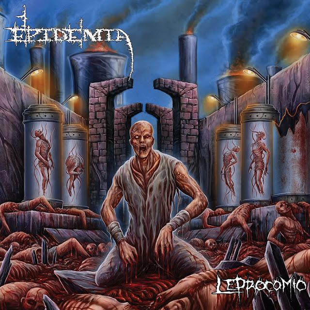 Detail from Epidemia New Album, Leprocomio, Detail from Epidemia New Album Leprocomio