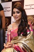 Actress Shriya Saran Stills in Saree at VRK Silks Launches at Himayat Nagar  0009.JPG